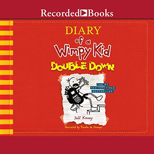 Amazon Com Double Down Diary Of A Wimpy Kid Book 11 Audible Audio Edition Jeff Kinney Ramon De Ocampo Recorded Books Audible Audiobooks