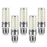 E27 Bombilla LED tipo maíz de 12W Equivalente a 1320LM Bombilla halógena de 120W , No regulable Ángulo de haz de 360 ° , E27 Bombillas LED de tornillo Edison para lámpara de pie Lámpara de techo , P