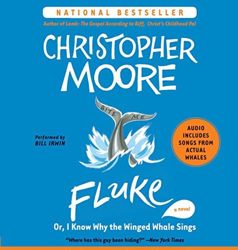 Fluke     Or, I Know Why the Winged Whale Sings              Auteur(s):                                                                                                                                 Christopher Moore                               Narrateur(s):                                                                                                                                 Bill Irwin                      Durée: 9 h et 46 min     2 évaluations     Au global 5,0