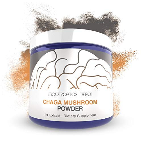 Chaga Mushroom Powder | 60 Grams | Inonotus obliquus | Organic Whole Fruiting Body Extract | Supports Immune Health | Promotes Healthy Cellular Function