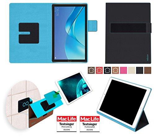 reboon Hülle für Huawei MediaPad M5 8 Tasche Cover Hülle Bumper | in Schwarz | Testsieger