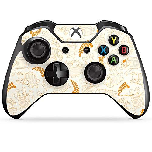 DeinDesign Skin kompatibel mit Microsoft Xbox One Controller Aufkleber Folie Sticker Sorgenfresser Figur Fanartikel Merchandise