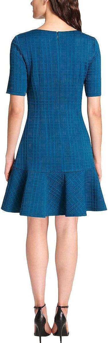 Jessica Howard Women's Textured Drop-Waist Dress