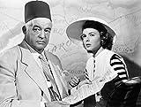 Filmposter Casablanca 1942, Nsidney Greenstreet und Ingrid