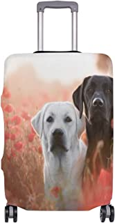 AJINGA Labradors In The Colors Travel Luggage Protector Suitcase Cover XL 29-32 in