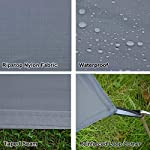 GEERTOP 1-3 Person Ultralight Waterproof Tent Tarp Footprint Ground Sheet Mat - For Camping Hiking Picnic 9