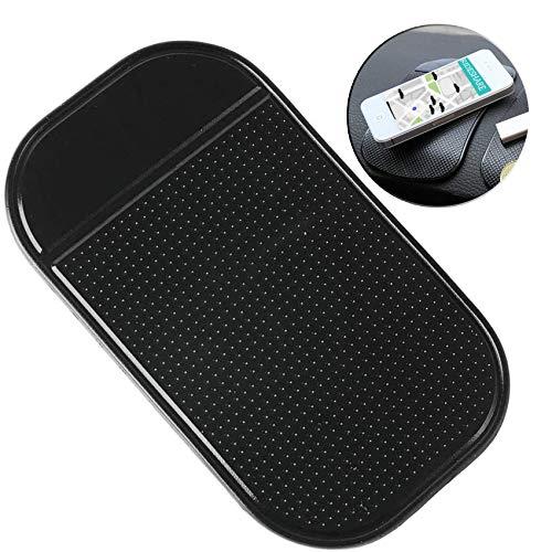 Handy Smartphone Auto Halterung Premium Antirutschmatte mit Starker Haftung KlebeMatte Haftmatte,Antirutschmatte für Armaturenbrett, PVC Handy Anti Rutsch Pad,Tablet Klebematte