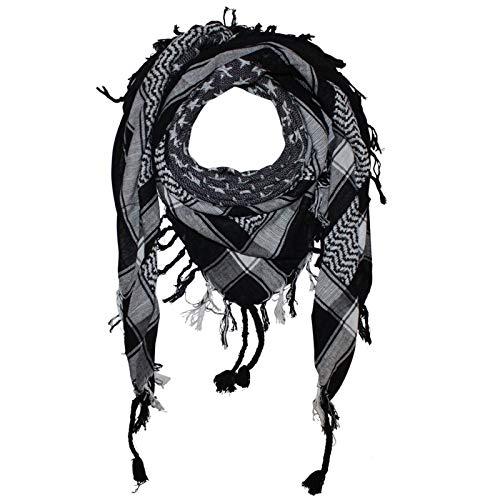 Superfreak Palituch - Sterne schwarz - weiß - 100x100 cm - Pali Palästinenser Arafat Tuch - 100{385b527c3488861a12fbadf759d2c8669f069ba5e964b7756c66d06fdb89b49e} Baumwolle