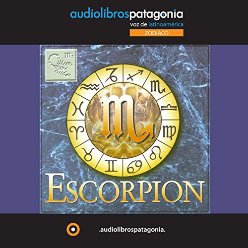 Escorpion audiobook cover art