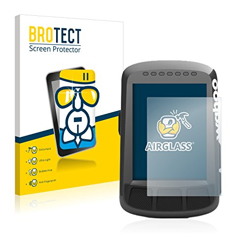 BROTECT Protector Pantalla Cristal Compatible con Wahoo Elemnt Bolt GPS Protector Pantalla Vidrio - Dureza Extrema, Anti-Huellas, AirGlass