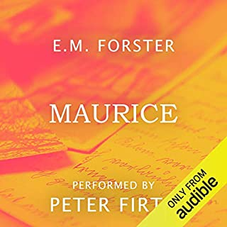 Maurice audiobook cover art