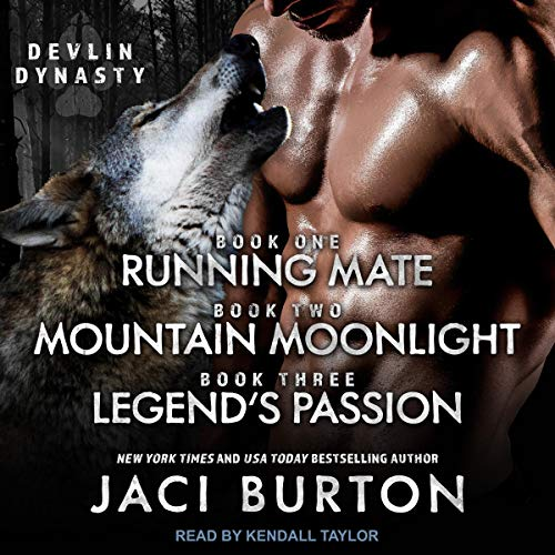 Running Mate, Mountain Moonlight, & Legend's Passion cover art