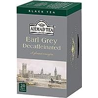 AHMAD TEA ( アーマッドティー ) デカフェ アールグレイ ティーバッグ 20袋 [ カフェインレス タイプ 個包装 ]
