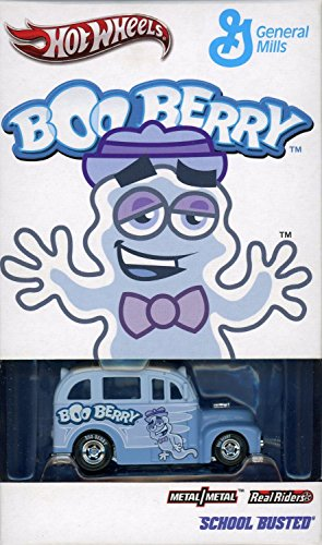 Hot Wheels 2012 SDCC Boo Berry Real Riders School Busted (Limited to 2600) by Mattel