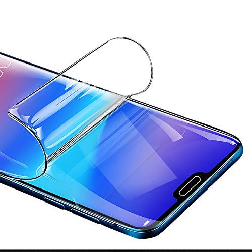 Didisky Pellicola Protettiva per Huawei P20 PRO, Copre Assolutamente Lo Schermo, Non Vetro, Compatibile con la Cover, Trasparente, 2 Pezzi
