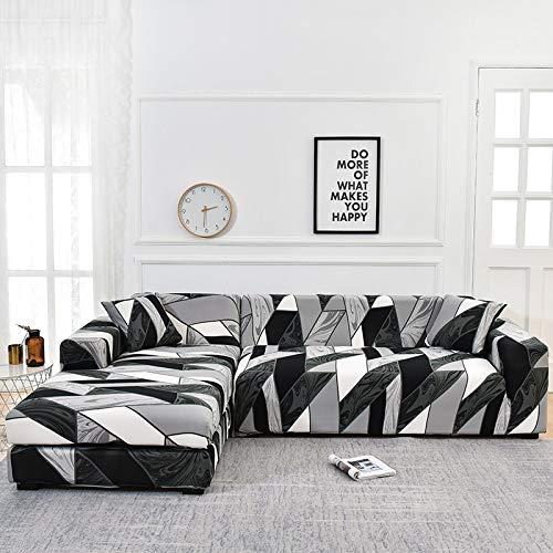 ASCV Funda de sofá con Estampado Floral Toalla de sofá Fundas de sofá para Sala de Estar Funda de sofá Funda de sofá Proteger Muebles A9 4 plazas