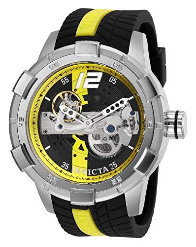 INVICTA Reloj analógico para Hombres de Automático con Correa en Silicona 28594