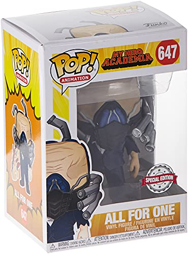 POP Funko My Hero Academia 647 All for One Charged Special Edition