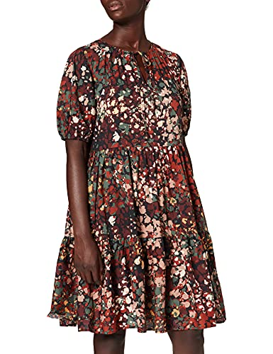 ESPRIT Collection 071EO1E311 Vestito, 003/Black 3, 40 Donna
