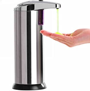 Stainless Steel Kitchen and Bathroom Wall Mounted 250ml Touch-free Automatic Sensor Soap Dispenser