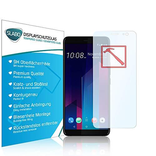 Slabo 3 x Premium Film Protection d'écran en Verre trempé pour HTC U11 Plus écran Film Tempered Glass Clair 9H