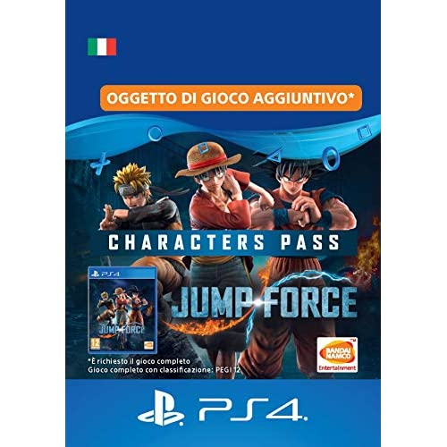 JUMP FORCE - Characters Pass   Codice download per PS4 - Account italiano