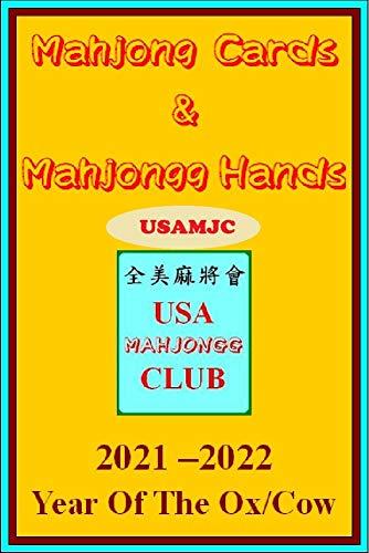 USAMJC 2021 Mahjong Cards & Mahjongg Hands -- year of the ox/cow:: eBook...