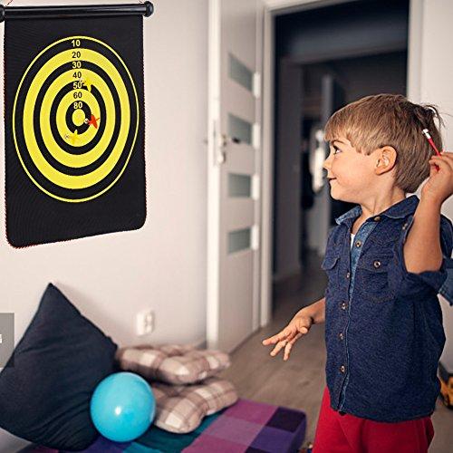 Alomejor Dartpfeile magnetisch und wendbar (6 Dartpfeile im Lieferumfang enthalten), magnetisch, tragbar, für Kinder, Familie, Freizeit und Sport