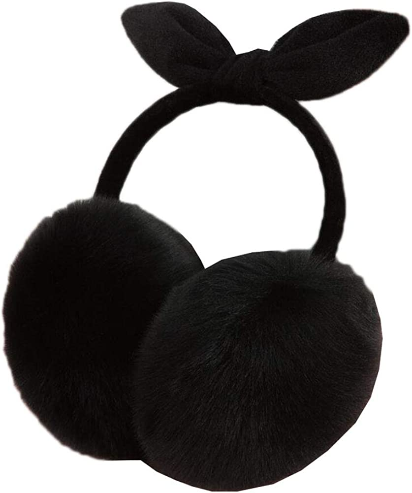 Cute Animal Soft Earmuffs Winter Warm Outdoor Ear Covers Headband Fur Ear warmer,#6
