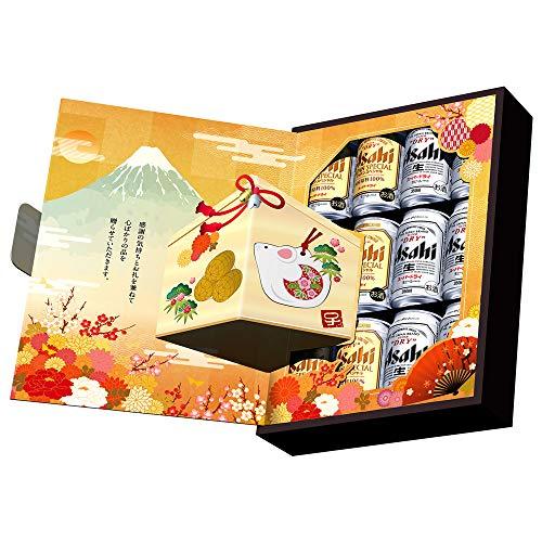 【クリアランス/Amazon.co.jp限定】スーパードライジャパンスペシャルダブルギフトセット(AZ-YG) [ ビール [ 350ml×12本 ] ] [ギフトBox入り]