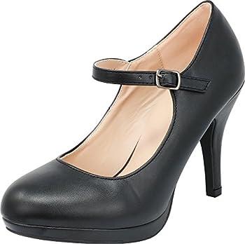 Best black closed toe pumps Reviews