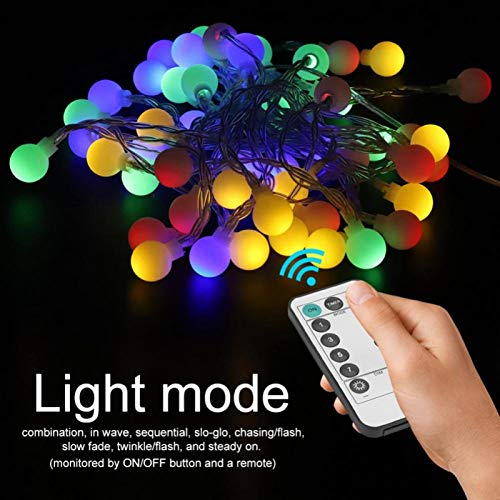 LED Bulbs 50 LED Sturdy and Durable Waterproof for Patio(Color)