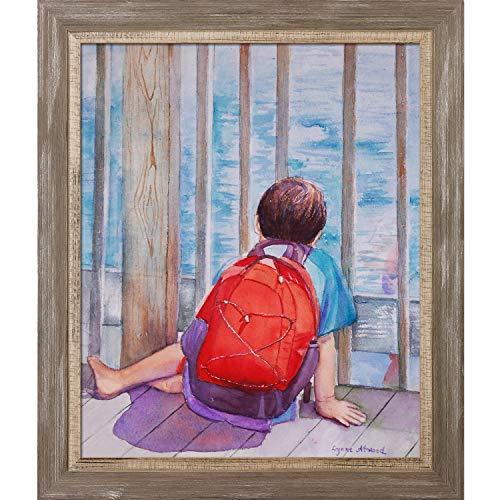ArtistBe Kunstdruck auf Leinwand, gerahmt, 73,7 x 63,5 cm, mehrfarbig