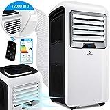 KESSER® - Klimaanlage Mobiles Klimagerät 4in1 kühlen, Luftentfeuchter, lüften, Ventilator -...