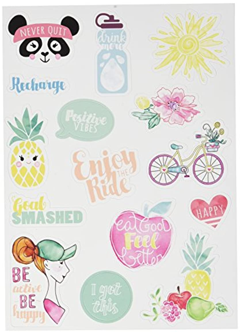 Sizzix 661975 No.2 Planner Page Stickers Icons