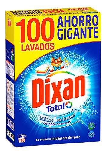 Dixan Detergente Polvo Total - 100 Lavados (5.30 kg