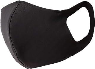 [アリサナ] 日本製 洗える マスク 涼しい 冷感 軽い 立体 水着素材 サラサラ UVカット クールタイプ ブラック Lサイズ