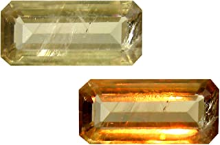 Deluxe Gems 4.30 ct Octagon Cut (15 x 7 mm) Unheated/Untreated Turkish Color Change Diaspore Natural Loose Gemstone