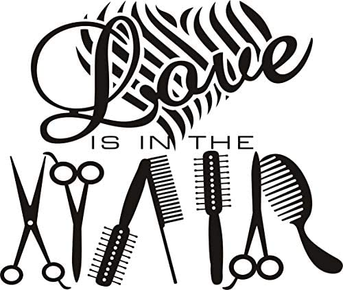 Beauty salon wall decals