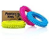 Spiky Sensory Ring / Bracelet Fidget Toy (Pack of 3) - No BPA,...