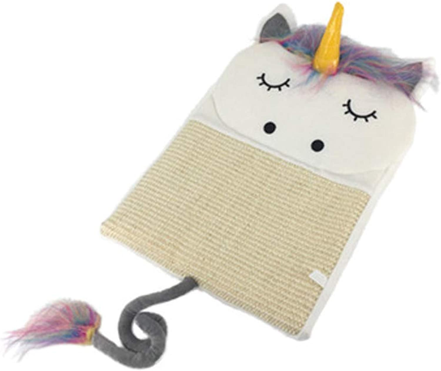 Cat sisal cat Claw Plate Sharpening Device Unicorn Funny cat Board Kitten Play Blanket