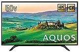 シャープ 50V型 液晶 テレビ AQUOS 4T-C50AH2 4K   2018年モデル