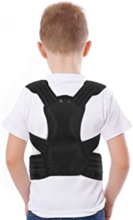 Posture Corrector for Kids, Back Posture Brace with Adjustable Shoulder Pads for Teenagers to Provide Spinal Support, Improve Posture and Prevent Slouching (L)