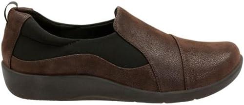 CLARKS Wohombres, Sillian Paz Slip on zapatos marrón 11 N
