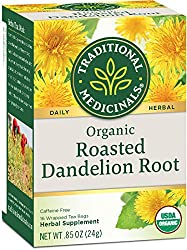 Roasted dandelion root is one product to help with a natural gallbladder cleanse.