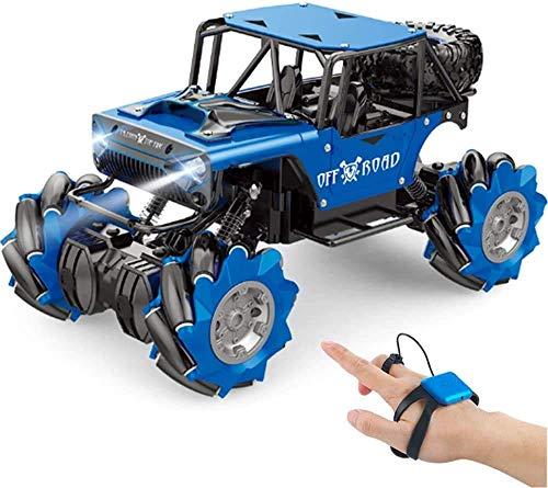 Coche de control remoto, control remoto de niños 1:14 nuevo sensor de gesto RC Aleación de la aleación de cuatro ruedas Drive de cuatro ruedas juguete de juguete de la deriva del reloj de la deriva Co