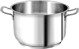 Alluminio H/&H Ex Chef Fus Antiaderente Granchef Cm20 Pentole E Preparazione Cucina 4.5 Litri Nero