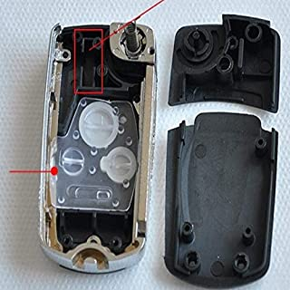 2 Buttons Remote Folding Key Shell Fit For Honda Pilot CRV Accord Civic Modified Key Case Replacement