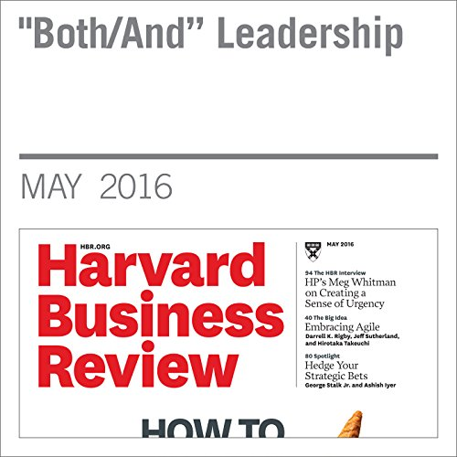 """Both/And"" Leadership audiobook cover art"