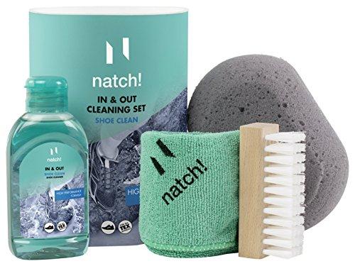natuurlijk. In & OUT Cleaning Set – reinigingsset voor binnen- en buitenverzorging van sportschoenen, per stuk verpakt (1 x 300 ml)
